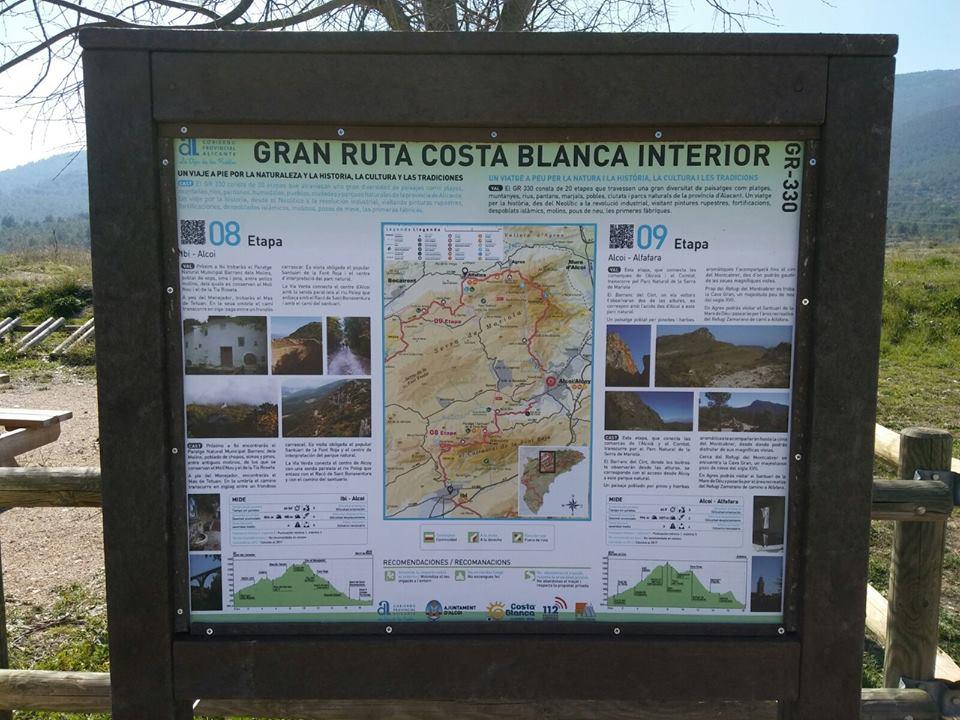 Foto Nuevo reclamo turístico para la oferta paisajística de Alcoy