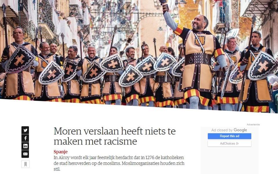 Foto La prensa de los Países Bajos se vuelve a hacer eco de la fiesta alcoyana