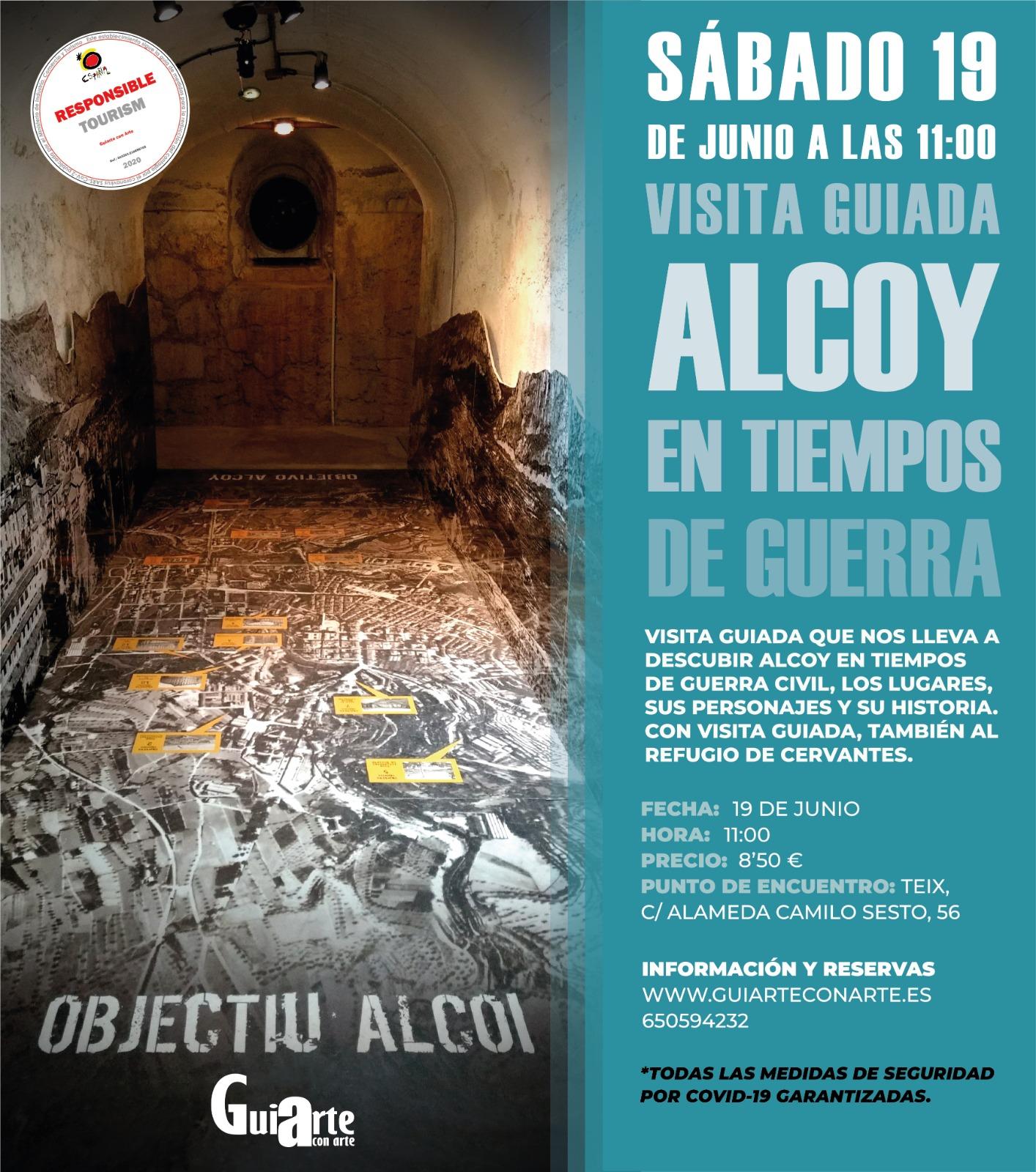 Visita guiada Alcoy en guerra