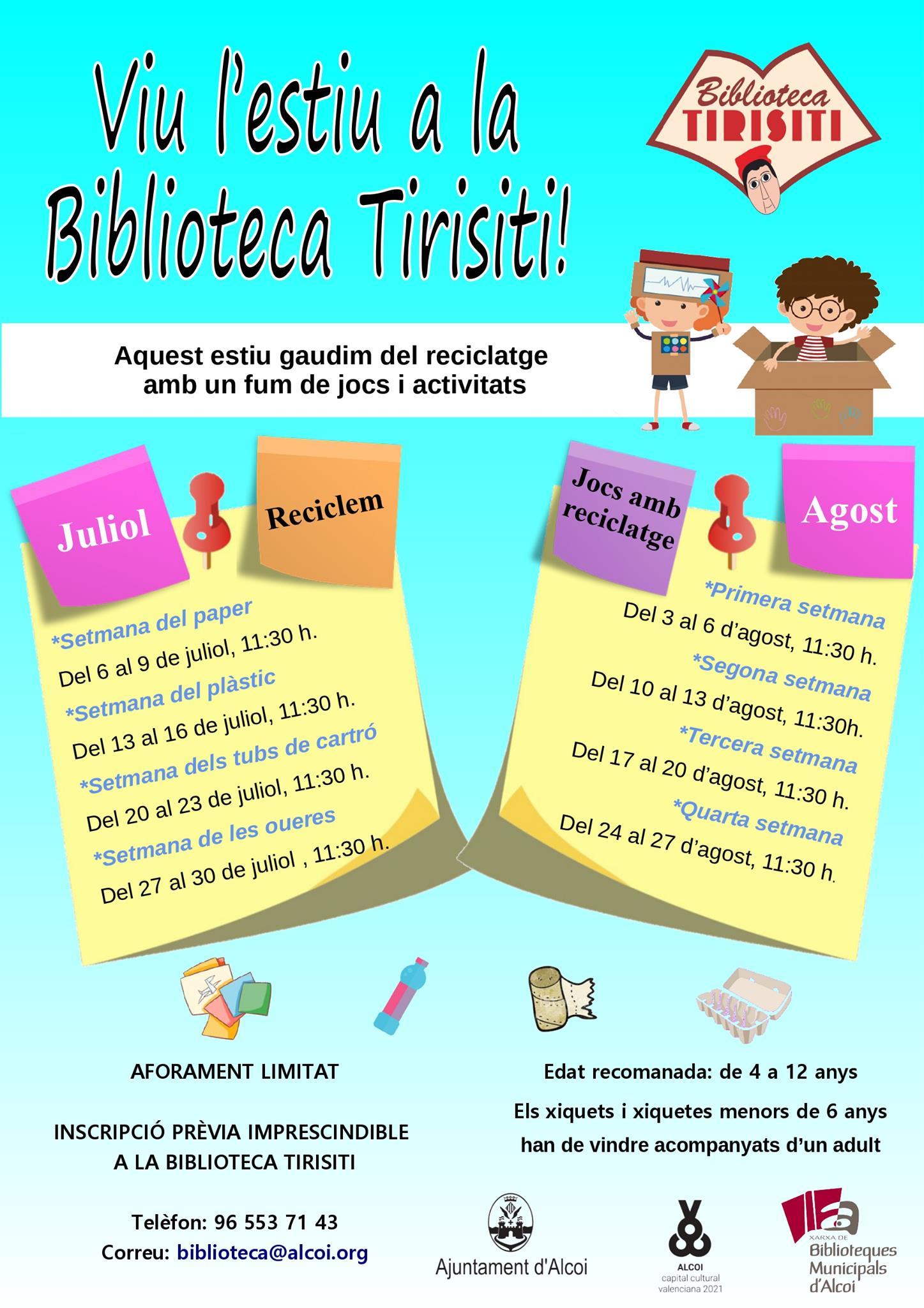 Viu l'estiu Biblioteca Tirisiti (jpg)
