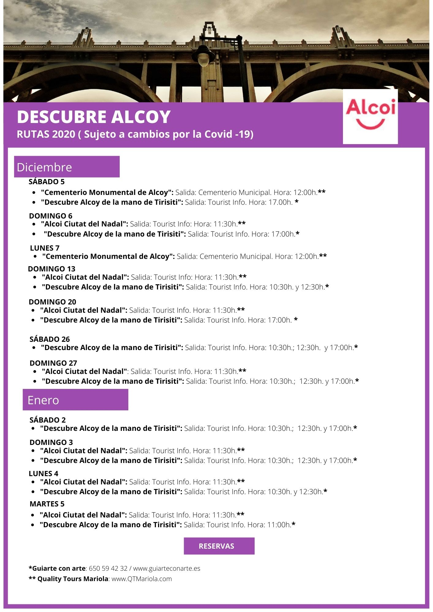 "Foto Rutas ""Descubre Alcoy Diciembre 2020"""