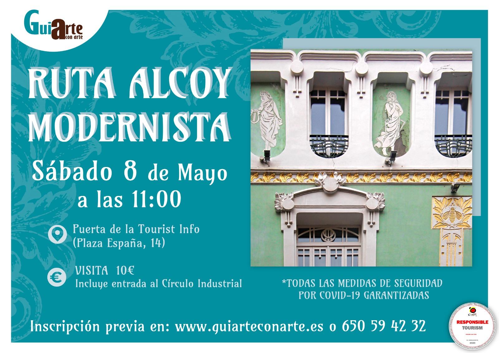 Visita Guiada Modernismo - Guiarte con arte