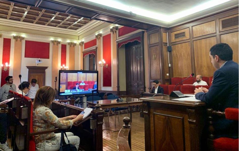 Foto El Pleno ha aprobado hoy una nueva línea de ayudas que generará un impacto de 1 millón de euros en el comercio y la hostelería local