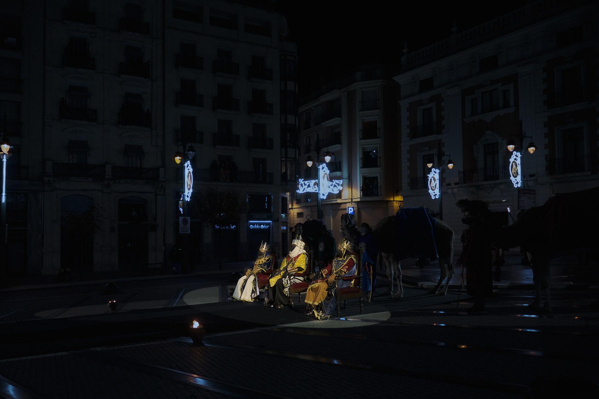 Foto de la Adoración de los tres Reyes Magos de Alcoy.