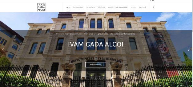 Foto El IVAM CADA Alcoi estrena web