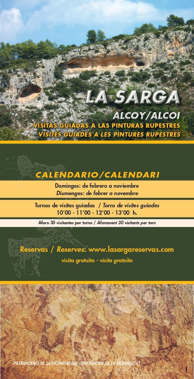 Visita guiada Pinturas Rupestres La Sarga