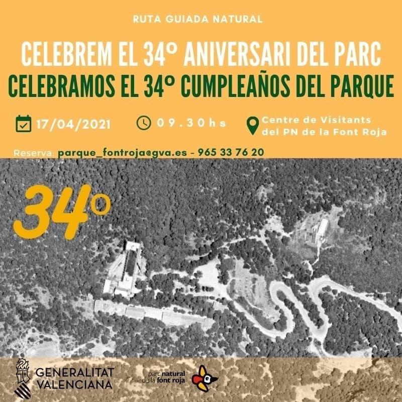 Foto Celebración 34º Cumpleaños Parque Font Roja