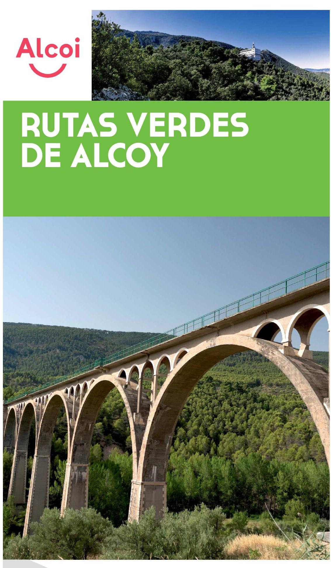 Foto Folleto y Plano Rutas Verdes