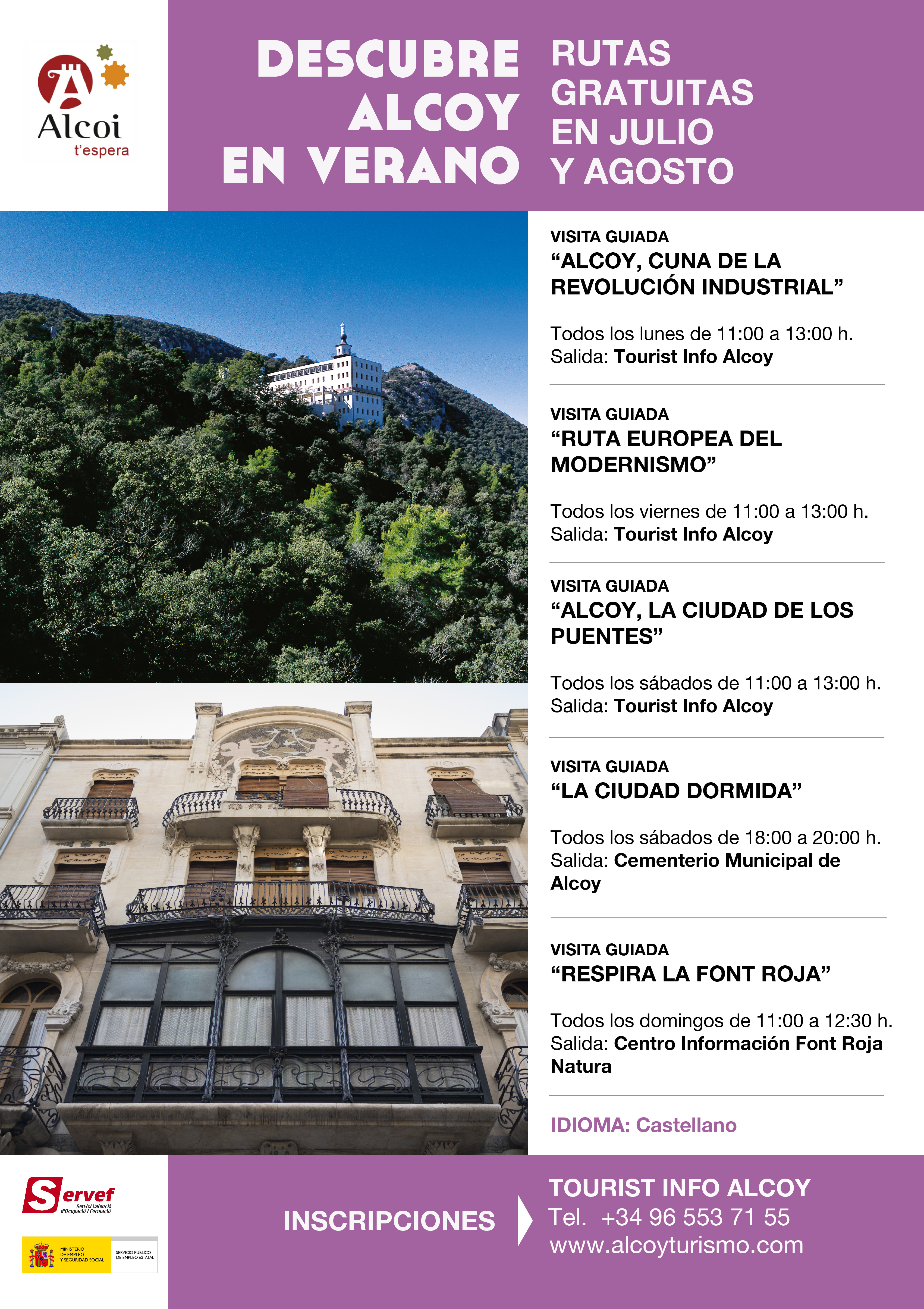 Hotel reconquista alcoy alicante inicio share the knownledge for Oficina turismo alcoy