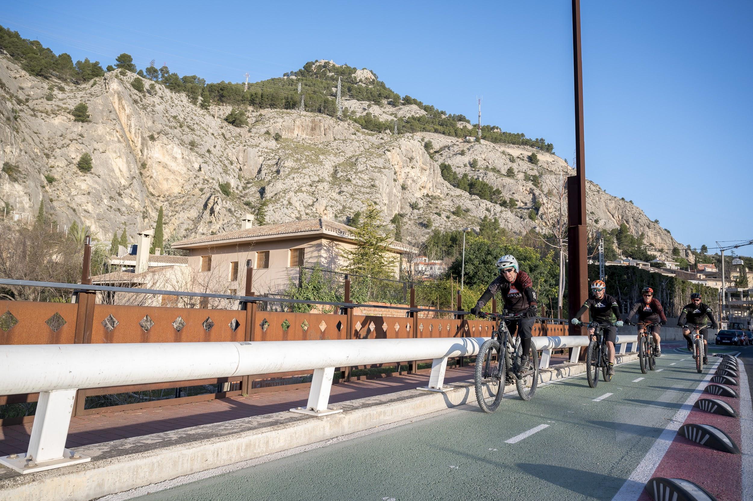 Foto Ruta Ciclo-Peatonal Alcoy